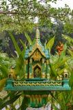 Buddhist altar Stock Photo