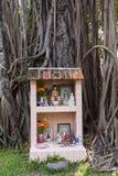 Buddhist altar Royalty Free Stock Photo