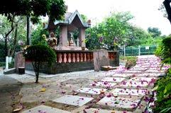 Buddhist Altar stock photos