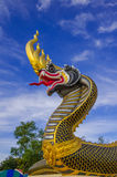 Buddhist art. In thailand temple royalty free stock photo
