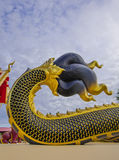 Buddhist art. In thailand temple Stock Photography