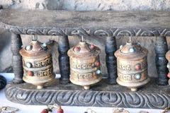 Buddhist artifacts Stock Photography
