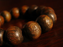 Buddhist beads Stock Image
