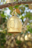 Buddhist bell. Traditional buddhist bell on entry of temple Stock Photography