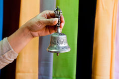 Buddhist bell. Royalty Free Stock Photo