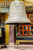 Buddhist bell in boudhanath, Royalty Free Stock Image