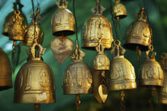 Buddhist bells Stock Image