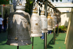 Buddhist bells Royalty Free Stock Photography