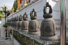 buddhist bells. Royalty Free Stock Images