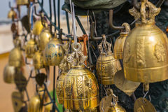 Buddhist bells Royalty Free Stock Images