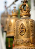 Buddhist bells hanging Royalty Free Stock Image