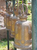 Buddhist bells. Series Bells in a Buddhist temple thailand Royalty Free Stock Images