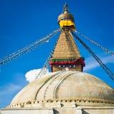 Buddhist Boudhanath Stupa. Nepal, Kathmandu Royalty Free Stock Images