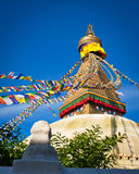 Buddhist Boudhanath Stupa. Nepal, Kathmandu Royalty Free Stock Photography