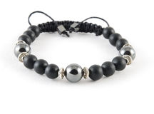 Buddhist bracelet shamballa Stock Photography