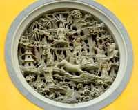 Buddhist carving Royalty Free Stock Photography
