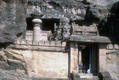 Buddhist cave temples and sculpture Stock Photo