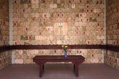 Buddhist cemetery Stock Image