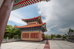 Buddhist Chinese temple in Thailand. Royalty Free Stock Photos