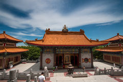 Buddhist Chinese temple in Thailand. Stock Images