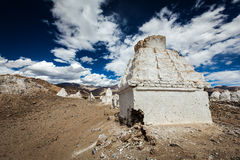 Buddhist chortens, Ladakh Stock Photos