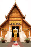 Buddhist Church In North Of Thailand. Royalty Free Stock Image