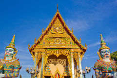 Buddhist church on koh samui Stock Photography