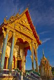 Buddhist church on koh samui Royalty Free Stock Photography