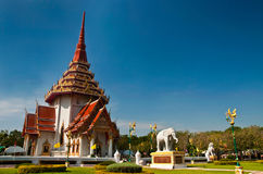 Buddhist church temple Stock Photo