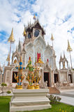 Buddhist church in the temple Royalty Free Stock Photo