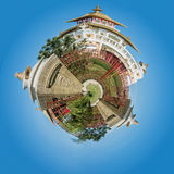 The Buddhist complex Royalty Free Stock Photos