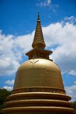 Buddhist dagoba (stupa) in Golden Temple Royalty Free Stock Photos