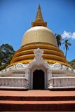 Buddhist dagoba (stupa) in Golden Temple royalty free stock images
