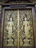 Buddhist doors Stock Photo