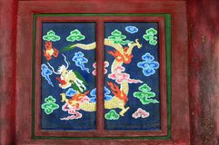 Buddhist dragon at Erdenezuu Royalty Free Stock Photos