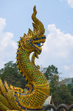 Buddhist dragon Royalty Free Stock Image