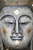 Buddhist face ornament, Thailand. Metal Buddha face for sale as an ornament, Thailand Stock Photography