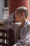 A Buddhist female monks Royalty Free Stock Photos