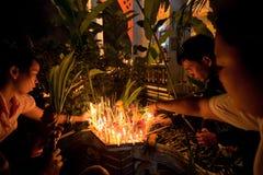 Buddhist festival - Makha Bucha Royalty Free Stock Photography
