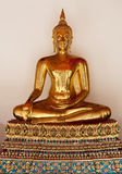 Buddhist figure gold Royalty Free Stock Photography