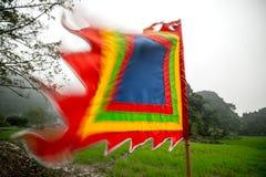Buddhist flag Stock Photos