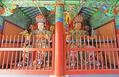 Buddhist Four Great Heavenly Kings Statue Royalty Free Stock Photos