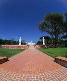 Buddhist Garden - Statue Stock Photos