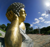 Buddhist Garden - Statue Stock Photos