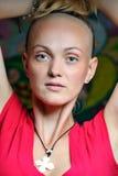 Buddhist girl Stock Image