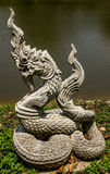 Buddhist  god snake Stock Images