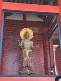 The Buddhist god Tenryu Statue at Kaminarimon Royalty Free Stock Images