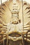 The Buddhist goddess  Thousand-hand Bodhisattva Royalty Free Stock Images