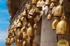 Buddhist Golden Bells Stock Images