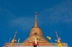 Buddhist golden pagoda Royalty Free Stock Photography